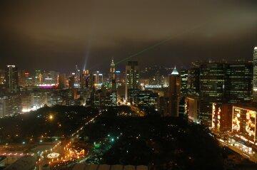BPホテルからの夜景